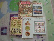 Christmas cookies cookbook lot cookie crafts chocolate packed jam filled cookies