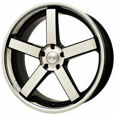 Judd Matte Polished Rims with 5 Studs