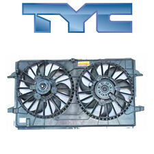 for Chevy Malibu 2007-2012 TYC 621790 Dual Radiator & Condenser Fan