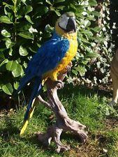 Ara Blau 70cm Gelbbrustara Papagei lebensecht  HOTANT Dekoration Vogelfigur NEU