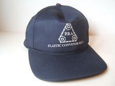 PBA Plastic Conveyor Belts Hat Dark Blue Snapback Baseball Cap