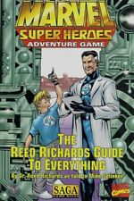 REED RICHARDS GUIDE TO EVERYTHING  (Marvel Super-Heroes Adventure Game TSR SAGA)