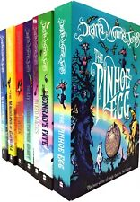 Chrestomanci Book Series Collection Diana Wynne Jones 7 Books Set Gifted Witch