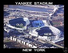 NY YANKEE STADIUM (OLD & NEW) - Souvenir Flexible Fridge Magnet