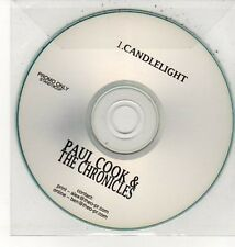 (DD69) Paul Cook & The Chronicles, Candlelight - DJ CD