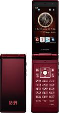 DOCOMO FUJITSU F-01E 13MP FULL HD RED HIGH SPEC UNLOCKED FLIP PHONE CELLPHONE