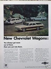 1968 Chevy Impala Chevelle Caprice Camping ORIGINAL Ad
