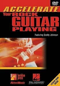 Johnson,Scotty-Accelerate Your Rock Guit [DVD][Region 2]