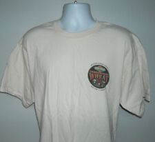 Mens Boulevard Unfiltered Wheat Beer T shirt XL Brewing Co small logo tan