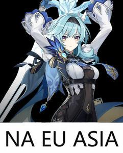 Genshin Impact Account Single 5 Star  Eula