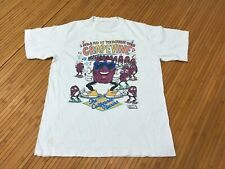 New listing Large - Vtg 1987 The California Rasins 80s Single Stitch Cotton T-shirt