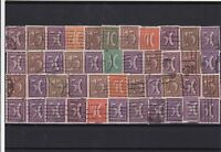 Germany Weimar republic 1918-1930 used Stamps Ref 16031