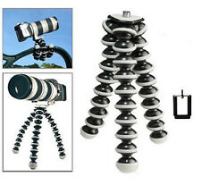 Multifunctional Camera Tripods Mobile Phone Large Octopus Tripod with Phone clip