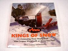 "Ariens collectible book ""Kings Of Snow"" celebrating 75th year 2008  NEW-In-Pkg"