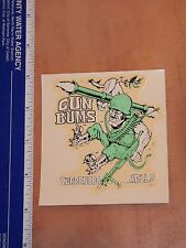 1960's VIETNAM ERA ED ROTH  WATER SLIDE DECAL GUN BUMS, SURRENDER HELL  RAT FINK