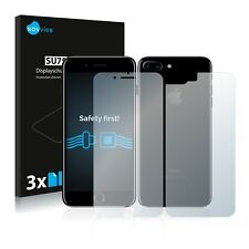6x Savvies Screen Protector for Apple iPhone 7 Plus (Front + Back) Ultra Clear