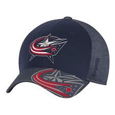 NHL Columbus Blue Jackets Structured Flex Fit Hat Center Ice Collection Cap