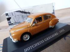 """Hotchkiss miniature 1/43 - Grégoire 1952 - Ixo """"Voit. françaises d'autrefois"""""""