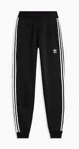 Adidas Originals Skinny Joggers ..Black/White stripes ... Mens.. Size small
