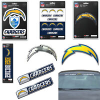 NFL Los Angeles Chargers Premium Vinyl Decal / Sticker / Emblem - Pick Your Pack