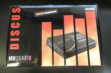 MB Quart Discus DSC480 4-Channel Amplifier 320 WATTS High Quality 4/3/2 AMP NEW