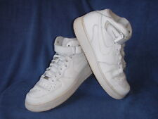 Nike Air Force 1 Sneaker Uomo Bianco Pelle UK 11 EU 46