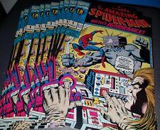 Lot of 11 - Amazing Spider-Man Battles Ignorance (1992) #1 Comic Books