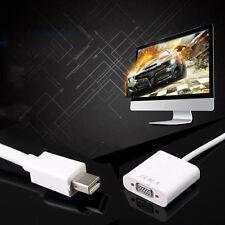 Mini Displayport Display Port To VGA adapter Cable for Apple Macbook PC M-VGA KL
