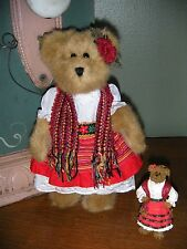 Boyds Bears Plush ~Bailey In Latin America W/Orn~ Qvc Exclusive Style #99118V