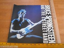 Bruce Springsteen and the E Street Band 1980 concert tour program booklet