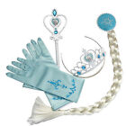 Frozen Elsa Anna Queen Princess Tiara Crown Hair Piece Wand Gloves Cosplay Kids