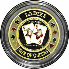 Casino Poker Card Guard Cover Protector LADIES
