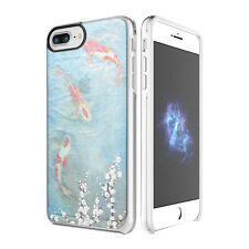 "Prodigee Show Koi Fish Clear iPhone 7 PLUS 5.5"" Clear 2 Piece Case Slim Cover"
