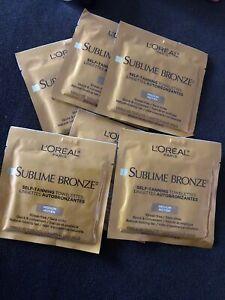6pcs L'ORÉAL Self-Tanning Towelettes Medium