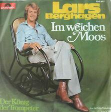 """7"""" 1977 RARE IN VG++ ! LARS BERGHAGEN : Im weichen Moos"""