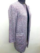 Ladies Pink Grey Esprit Coat Jacket Size 8