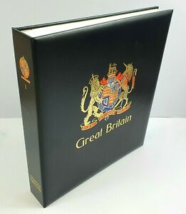 Stanley Gibbons Great Britain Luxury Hingeless  Stamp Album with a Slipcase