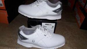 NEW Mens Footjoy Pro SL 53804 Golf Shoes, size 9