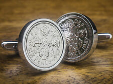 Cylindrical Coins & Money Cufflinks for Men