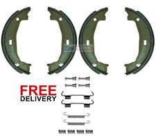 FOR BMW E36 320 325 328 (1991-1998) REAR HAND BRAKE SHOES & FITTING KIT SET NEW