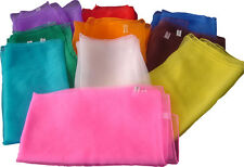 Jongliertücher Jongliertuch 70 x 70 cm, rot, gelb, blau, orange, grün, weiß pink