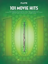 101 Movie Hits for Flute Instrumental Folio Book New 000158087