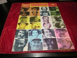 1974 PITTSBURGH PIRATES Yearbook WILLIE STARGELL Parker MOOSE Sanguillen