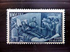 ITALIA 1948 - 100l sg717 leggermente montato MENTA GATTO £ 140 NUOVO prezzo fp8525