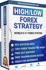 FOREX: Amazing High/Low Forex Trading System. $6K in 1 Day. Proof Inside