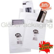 2000 Jiffy jsl1 Blanco Superlite de espuma forrada Bolsas acolchadas Sobres 170x245mm 24 Horas