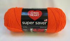 Red Heart Super Saver Yarn Acrylic 7 oz Flame