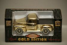 Craftsman 1949 Chevy Pickup Gold Edition Fiftieth Ann.Truck Die-Cast Bank NIB