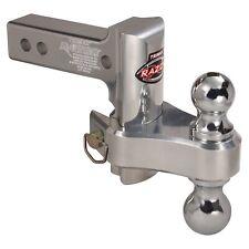 Trimax Trz4Al-Rp Razor 4in Aluminum Adjust Hitch-Dual Ball Trz4Al-Rp