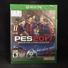 Pro Evolution Soccer 2017 (Microsoft Xbox One, 2016) BRAND NEW / Region Free